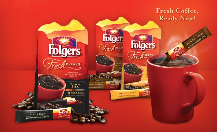 Free Sample of Folgers Coffee