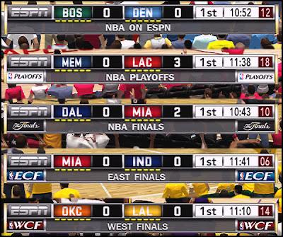NBA 2K13 ESPN Scoreboard Patch Mod