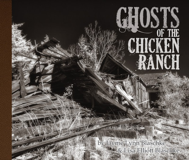 Ghosts of the Chicken Ranch, coffee table book, photography book, Chicken Ranch book, La Grange Texas, brothel book, bordello, bawdy house, cat house, Lisa On Location photography, fine art photography, San Marcos, New Braunfels, San Antonio, Austin