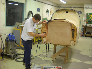 La construction de l'avion