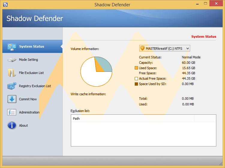 Shadow Defender 1.4.0.578