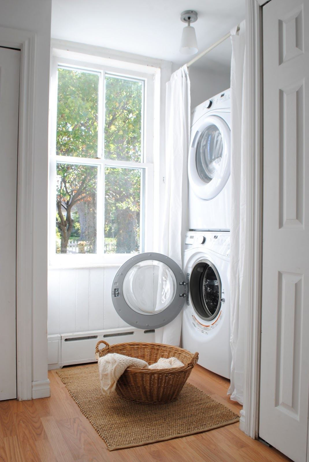 The grower 39 s daughter the laundry area after - Tumble dryer for small space pict ...