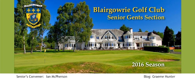 Blairgowrie Golf Club Senior Gents' Section