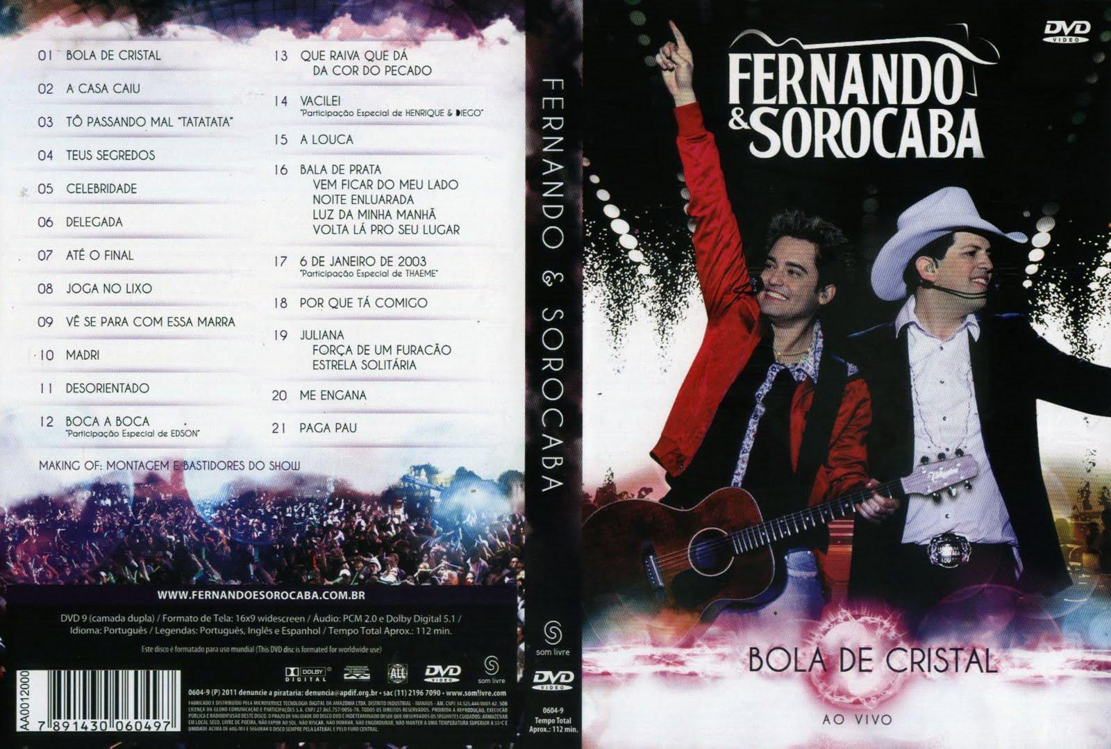 Fernando e Sorocaba Bola De Cristal Ao Vivo DVDRip XviD (2011) Fernando 2B 2526 2BSorocaba 2B  2BBola 2BDe 2BCristal 2BAo 2BVivo