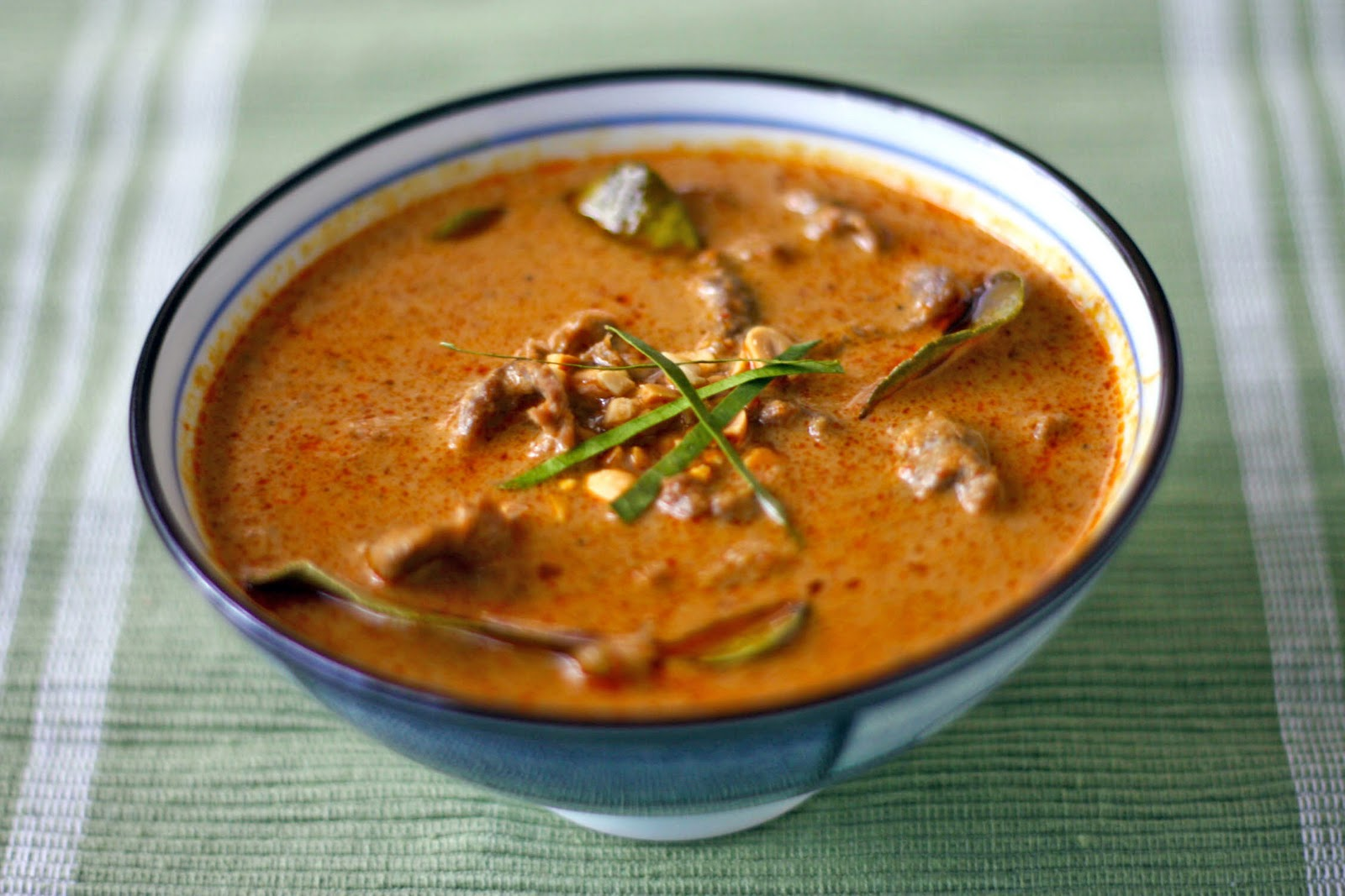 Panang Curry with Beef and Bamboo Shoots