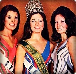 TOP TRES MISS BRASIL 1972