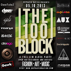 The 100 Block  A Full Sim Block Party