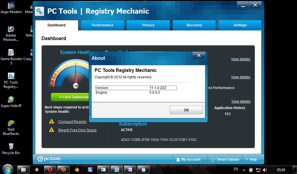 Registry Mechanic 11 1 0 188 Free Full Download with Keygen