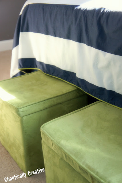 Boy's Room Ideas Navy and Lime