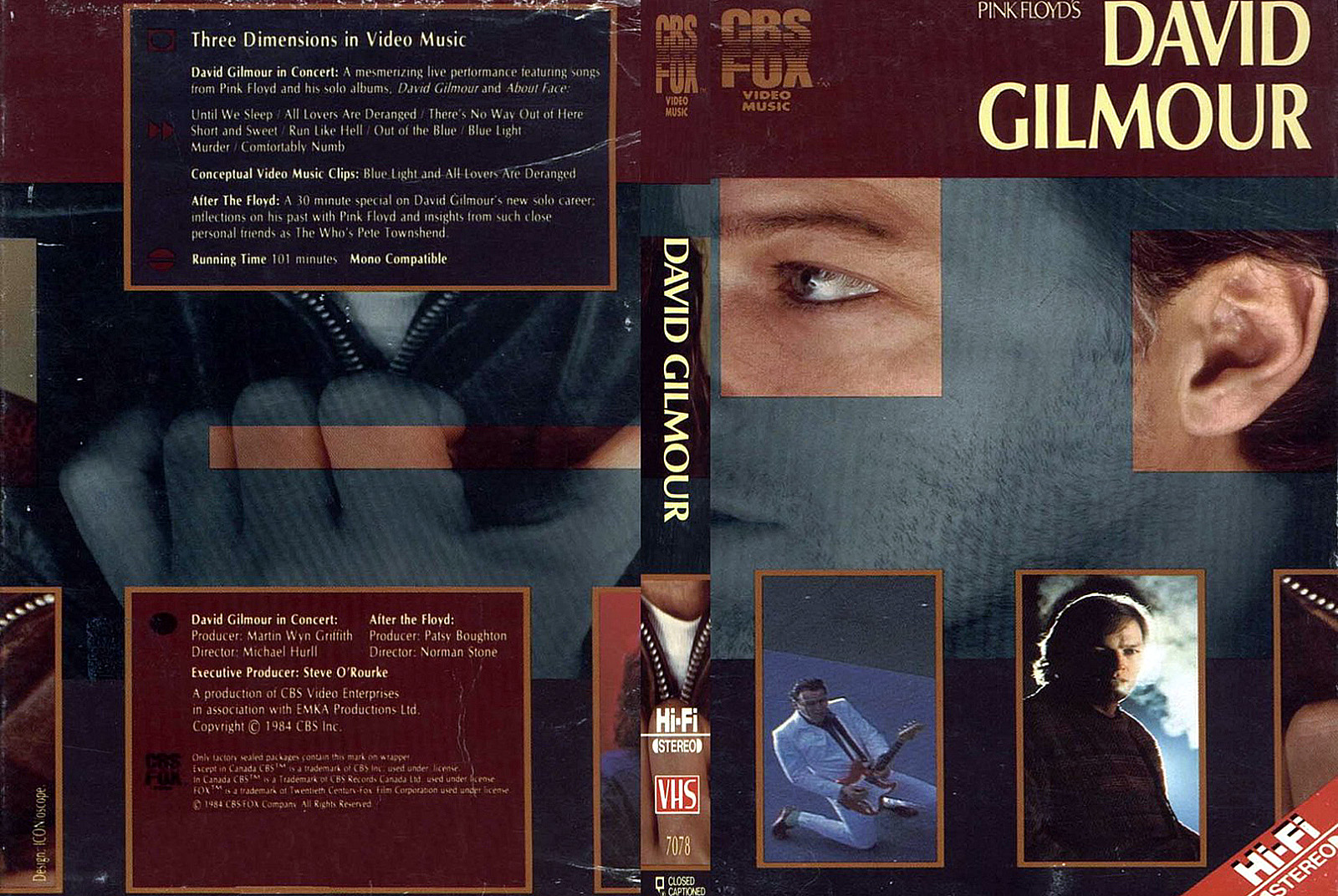 Dvd Concert Th Power By Deer 5001 David Gilmour In