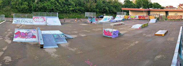 Nouveau skatepark Auxerre
