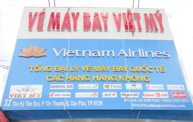 Đại lý vé máy bay Air Asia tại quận Tân Phú
