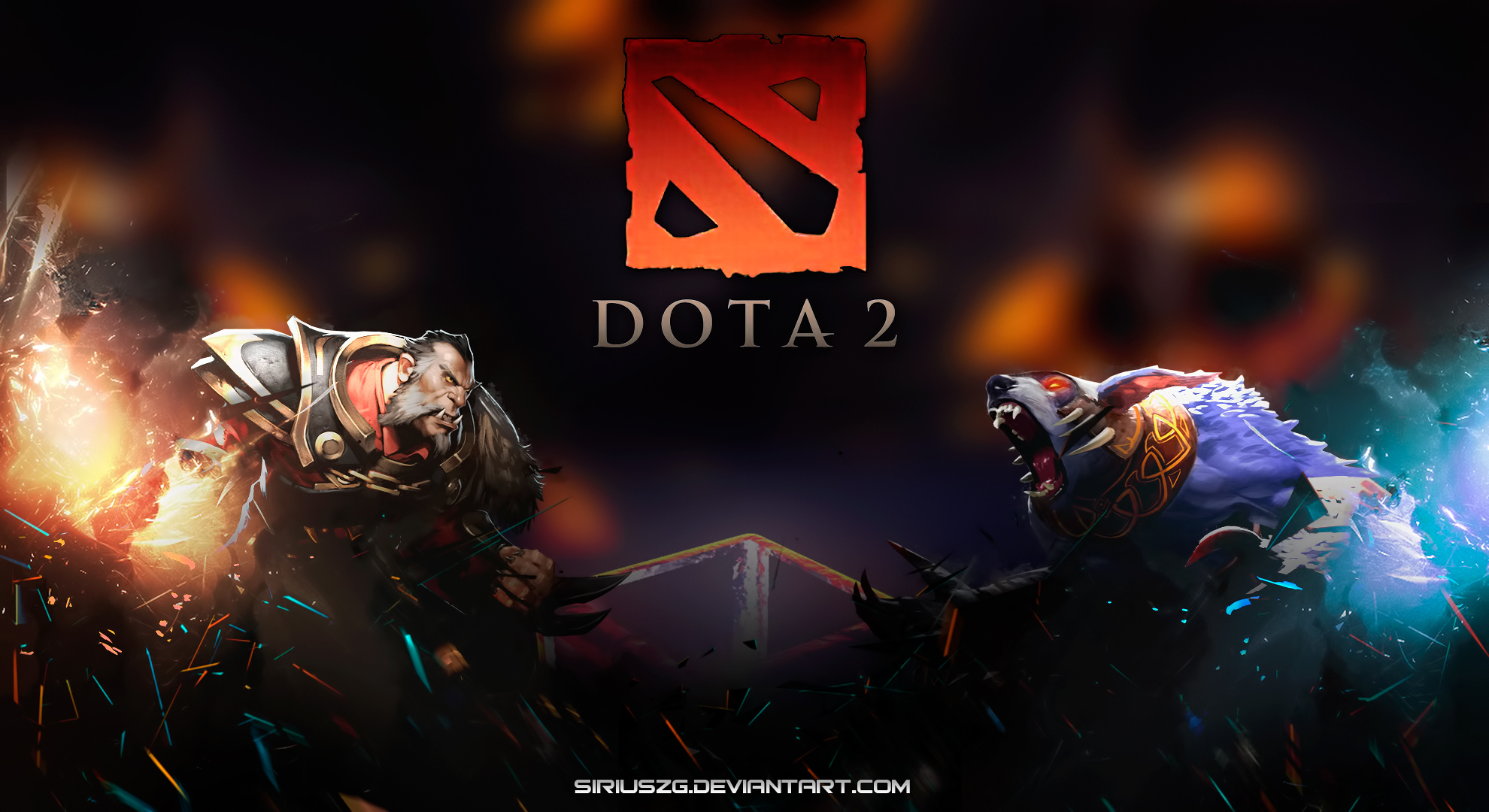 Dota 2 Lycan Ursa 3d HD Wallpaper