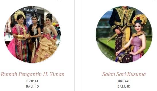 Ragam Model Kebaya dan Tata Rias Pengantin Bali