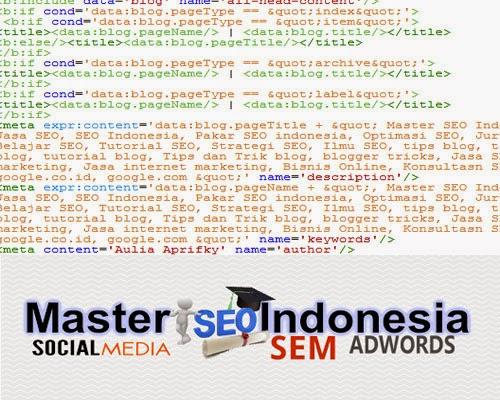 Script SEO Untuk Blogger