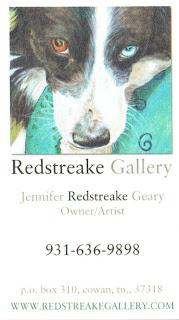 Jennifer Redstreake, artist