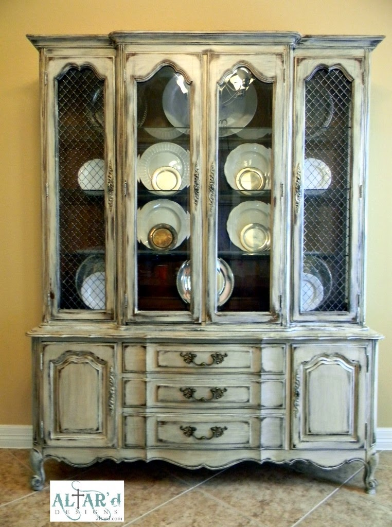 I Decided Should Look Around On Pinterest And Come Back With Some Ideas This China Cabinet Became The Inspiration For My Dining Room Set