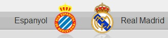 Espanyol and Real Madrid shields