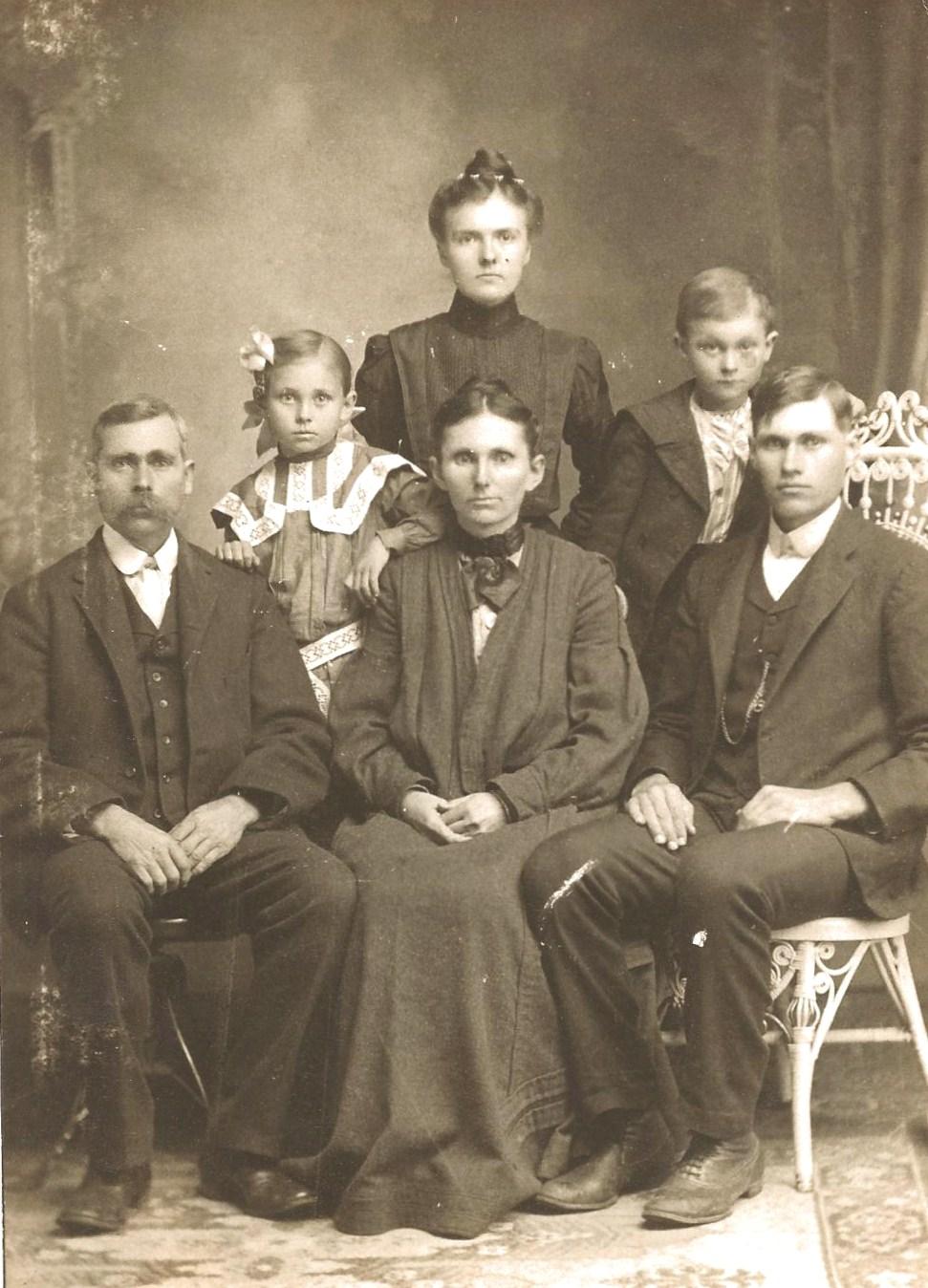 Family Roots Clark Jones Corbin And Mccauley The