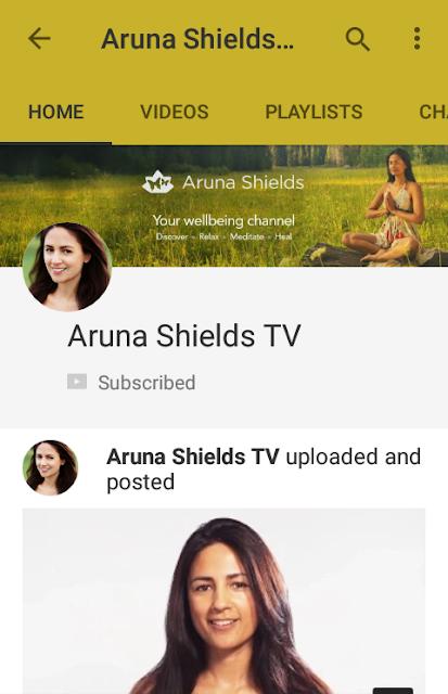 The Inspirational  - Aruna Shields TV