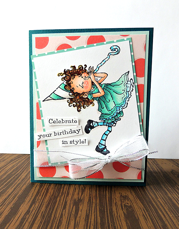 Penny Black Birthday Joy Card by She Zig Zags