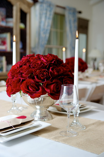 Pretty domestic red and quot kraft paper brown dinner party