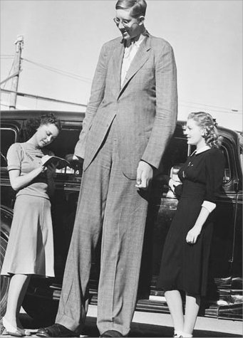 According to the Guinness Book of World Records, he was the tallest person