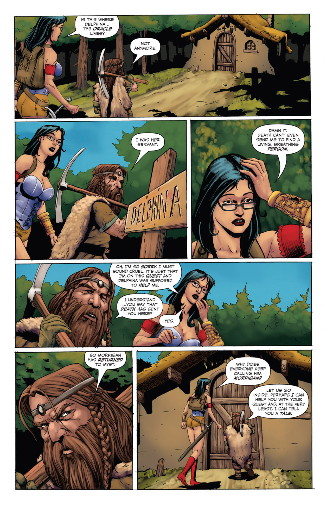 Grimm Fairy Tales (2005) Issue #53 #56 - English 8