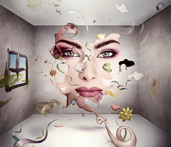 A Vivid Themed Illustration Using Hand-Drawn