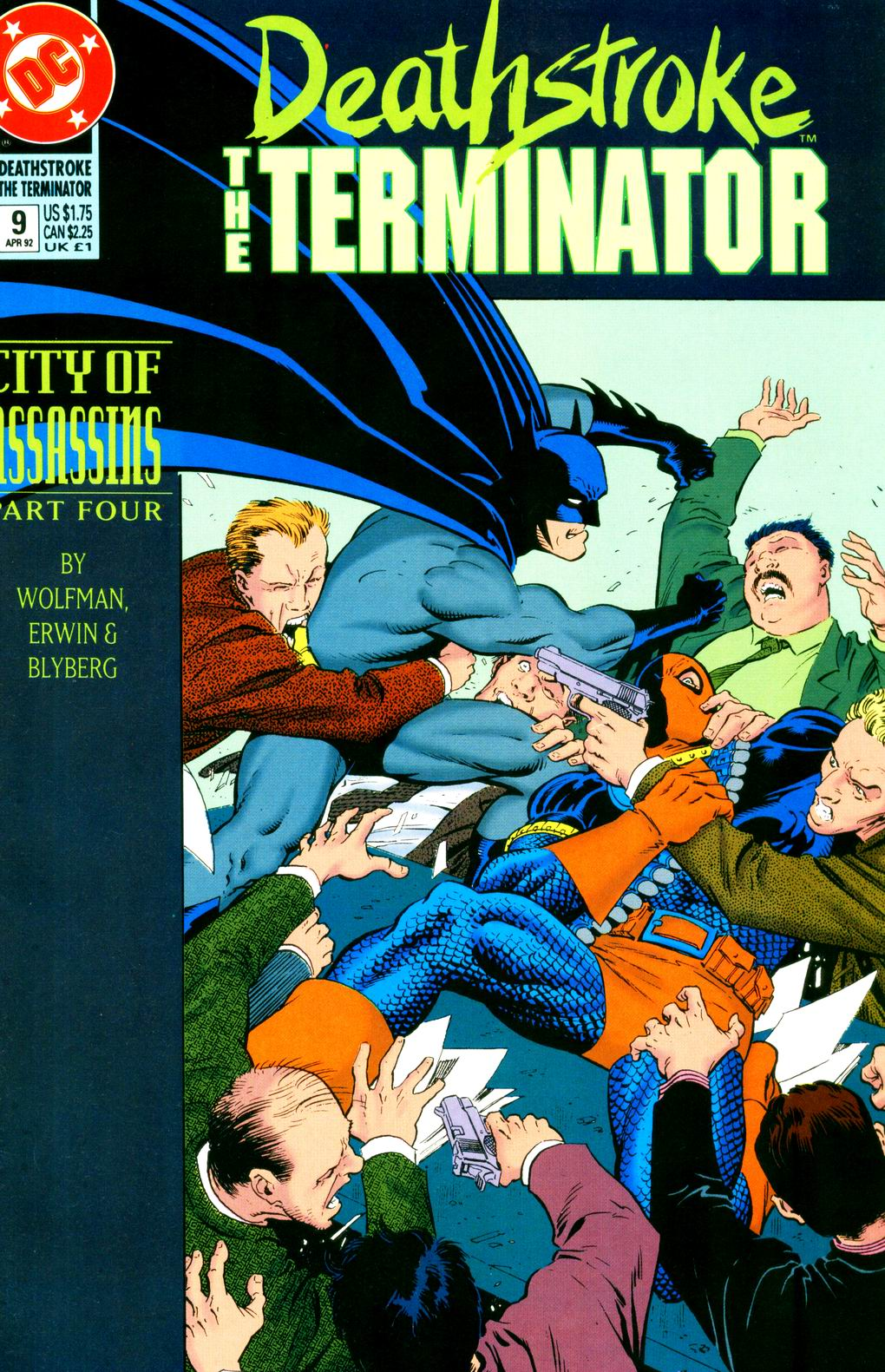 Deathstroke (1991) Issue #9 #14 - English 1
