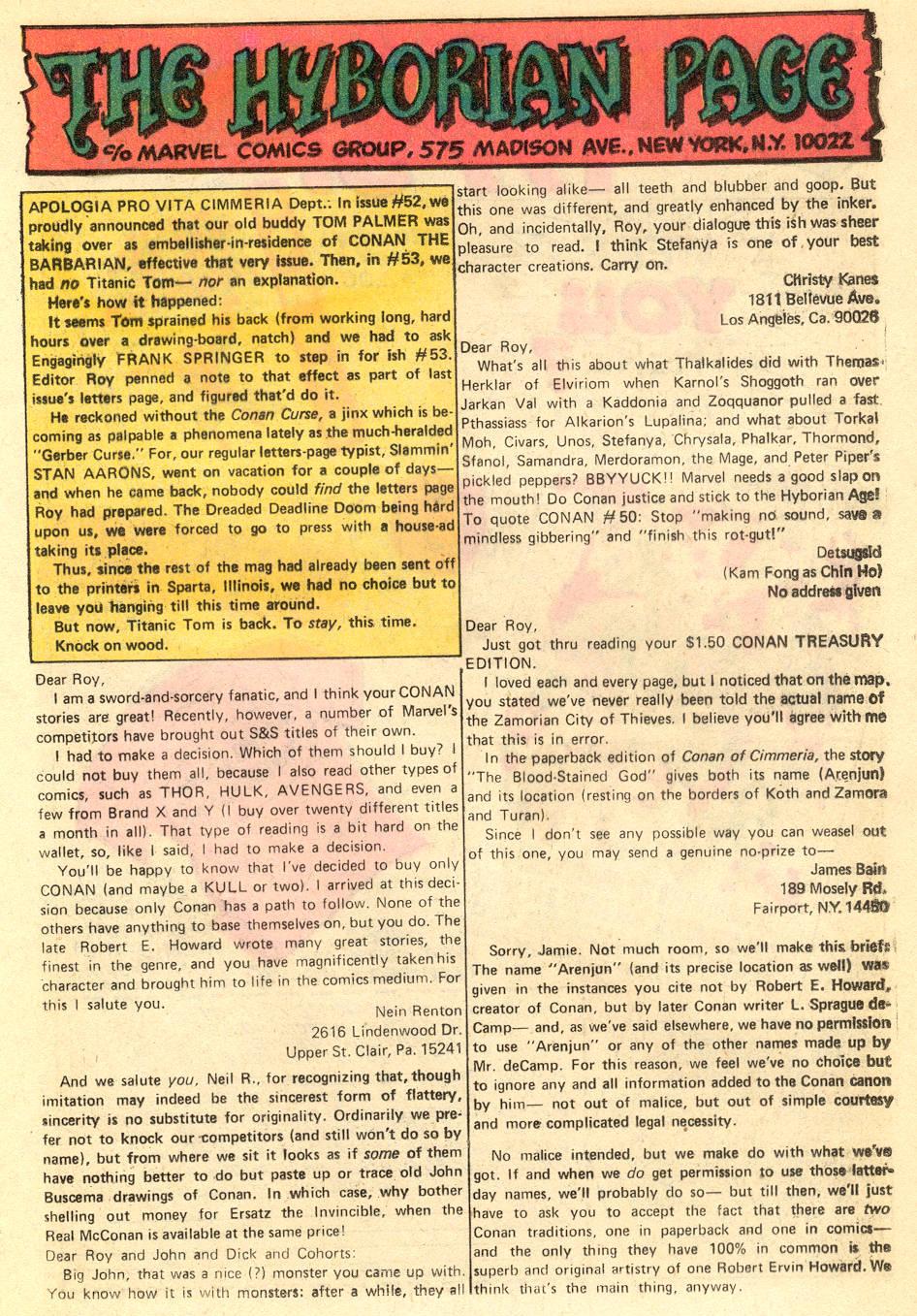 Conan the Barbarian (1970) Issue #54 #66 - English 22