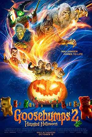 Goosebumps 2 2018 Hollywood 300MB HDCAM 480p