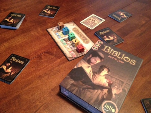 boardgamereviewsbyjosh's Biblios board game review