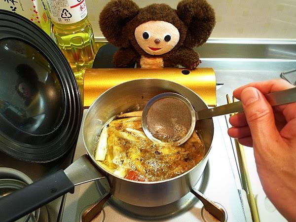 ゴボウと油揚げの梅煮 作り方