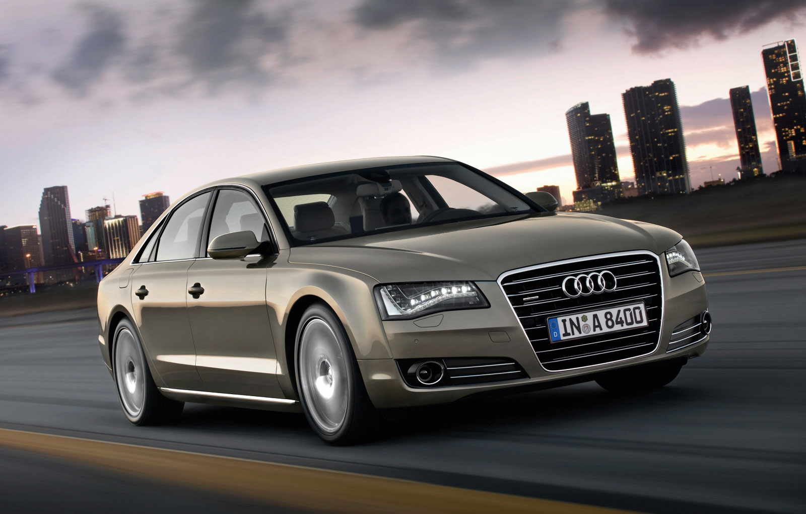 Audi A8 Hd Wallpapers 2011