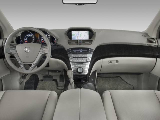 Sports Car 2009 Acura Mdx Interior