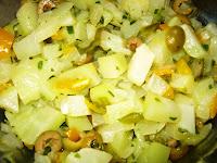 Salada de Chuchu Refogado (vegana)