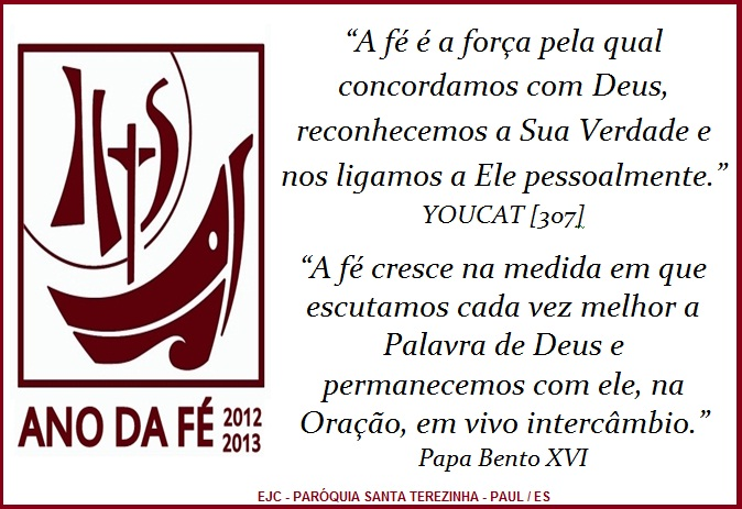 Catequista Roberta Cartaz Ejc