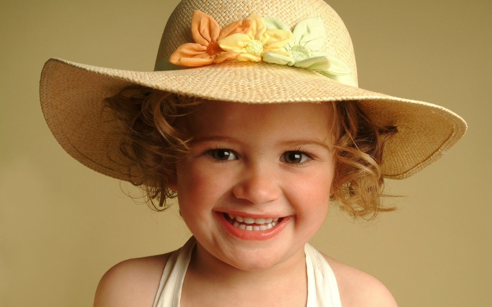 Baby Girl Wearing Hat Picture