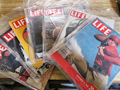 Lot of 7 Vintage Life Magazines Great Football Issues 1948-1972