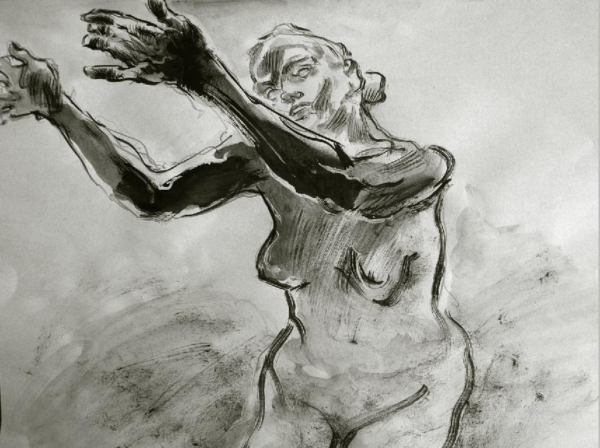 Vincent grav dessins l 39 ge m r deuxi me version mus e - Camille dessin ...