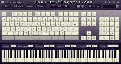 بيانو,الكمبيوتر,مجانا,تحميل برنامج البيانو للكمبيوتر,2014,اخر اصدار,كبيبورد,free piano