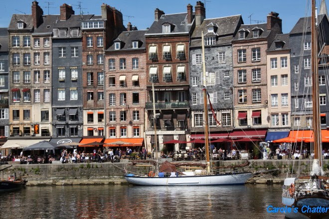 Honfleur - taken by Carole of Carole's Chatter