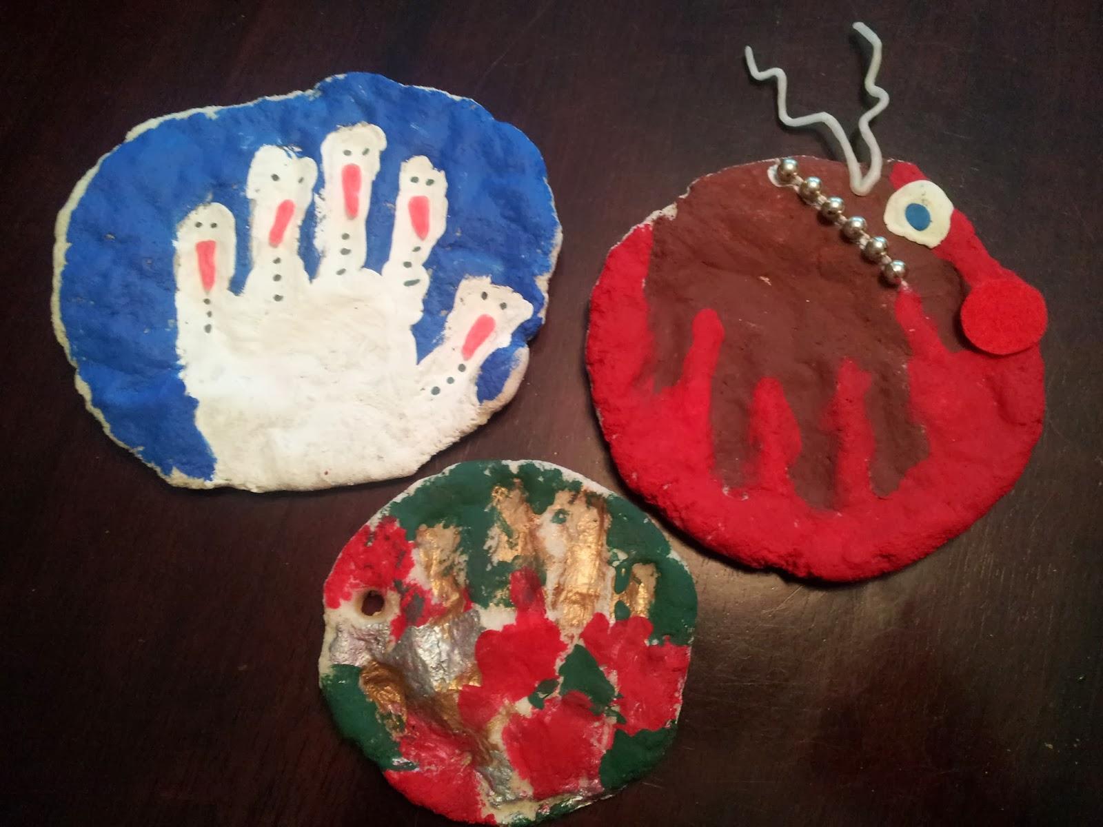 Salt Dough Christmas Ornaments, crafts, kids crafts