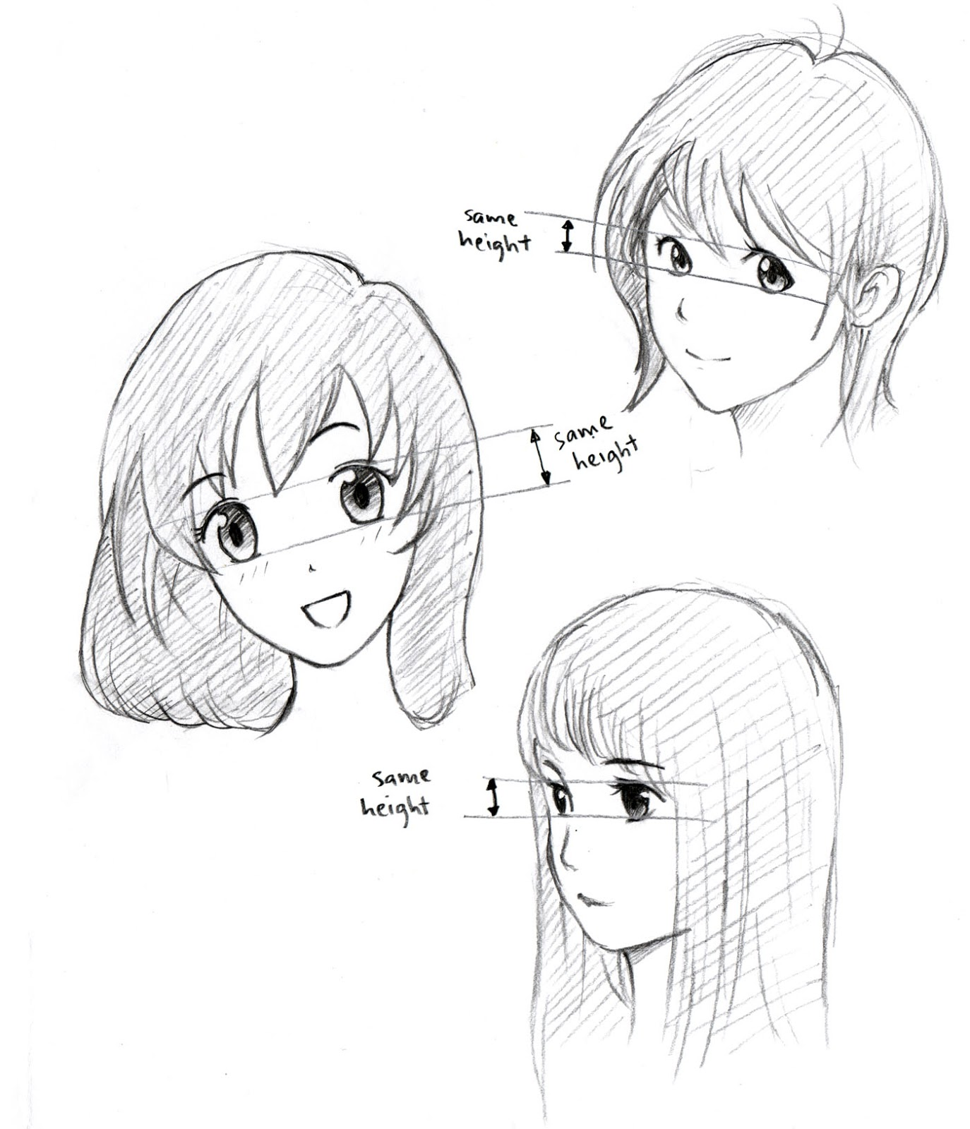 JohnnyBro's How To Draw Manga: How To Draw Manga Eyes (Part III