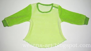 Baby Sweater Tutorial 1    wesens-art.blogspot.com
