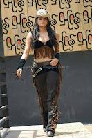 Priyamani, latest, navel, show, in, cowboy, dress