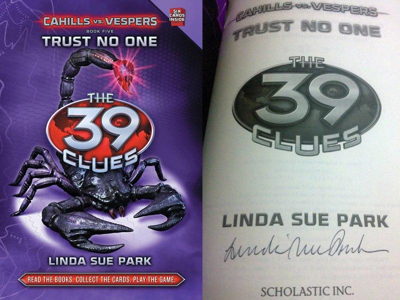 Trust No One: Cahills Vs Vespers (39 Clues, Book 5) (The 39 Clues: Cahills vs. V