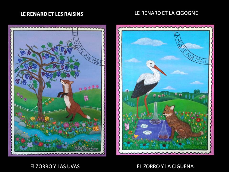 Fables de la Fointaine Fábulas de la Fontaine