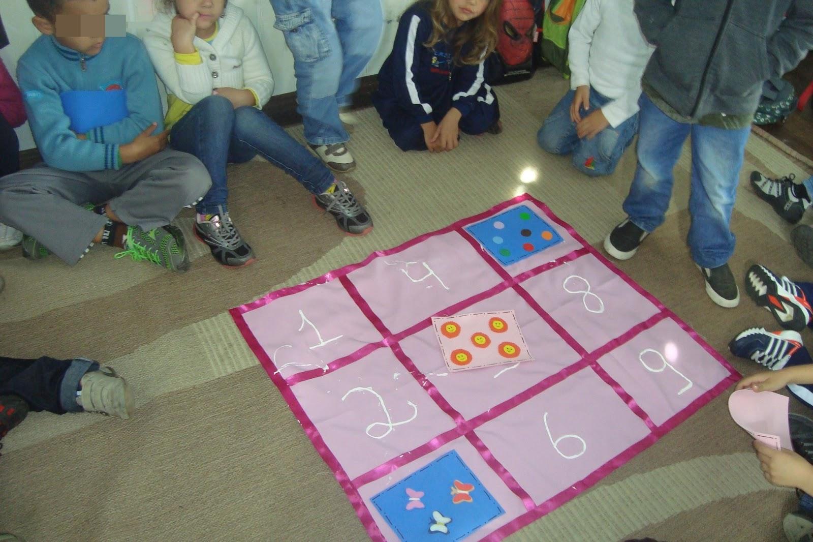 Suficiente Experiências na Educação Infantil: Jogo dos números e quantidades HX36